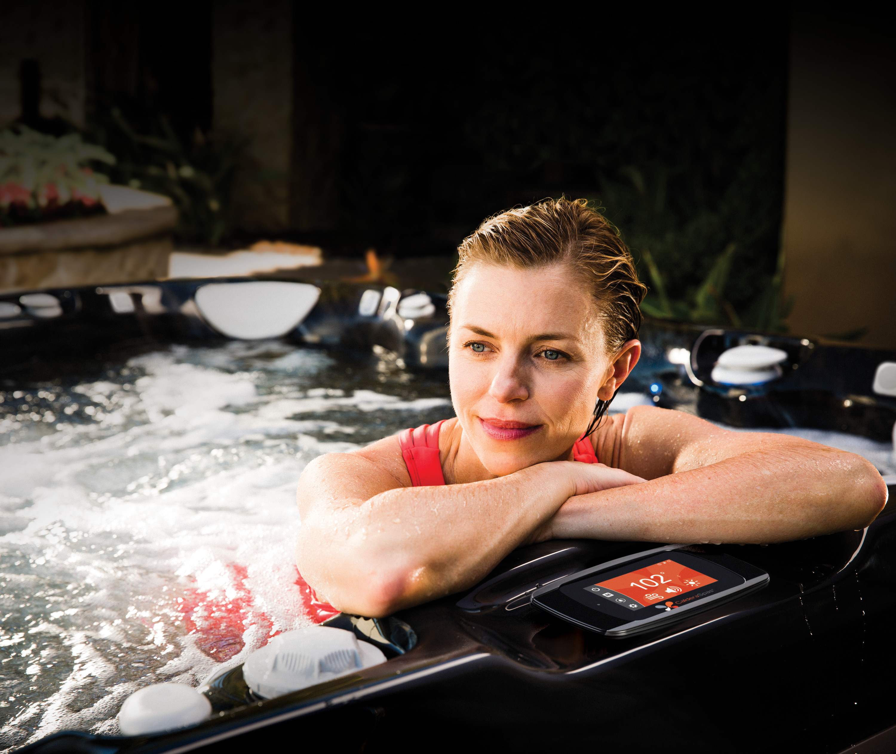 Controls are an important consideration to get the best hot tub vs. Jacuzzi® experience.